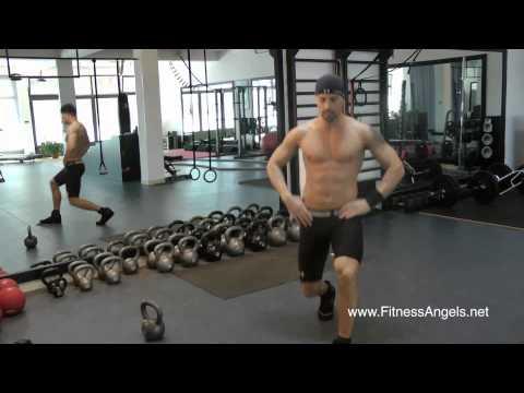 Početnički trening bez pauze sa miješanom opremom: rutina 2