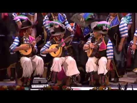Sesión de Final, la agrupación Los cabrones actúa hoy en la modalidad de Coros.