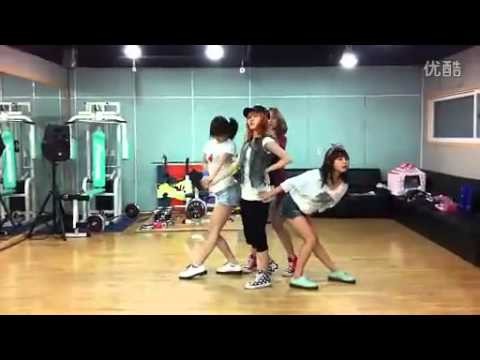 [missA Suzy's Me2day] miss A [GOODBYE BABY] dance practice
