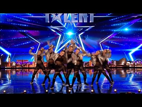 Britain's Got Talent 2017 Nu-Vybe Dance Group Full Audition S11E05