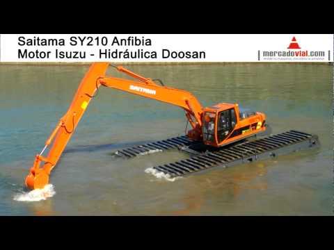 Excavadoras Anfibias Saitama Pantanos en Argentina tipo Big Float