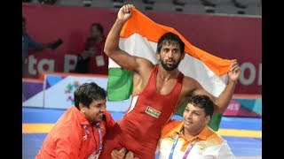 Asian Games 2018: Indian wrestler Bajrang Punia wins Gold; here's what family feels - NEWSXLIVE