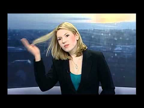 News Reporter Doesnt Realise She Is On Live TV 