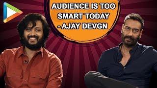 "Ajay Devgn: ""PROMO ka Reaction Sabse IMPORTANT hai""   Riteish Deshmukh   Total Dhamaal - HUNGAMA"