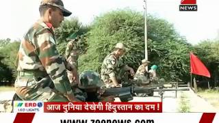 Zee Media Special: Indian military's lethal weapons at display - ZEENEWS