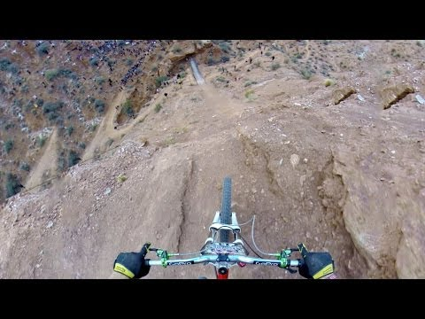 Guy Cycles Over 72 Foot Canyon... Respect