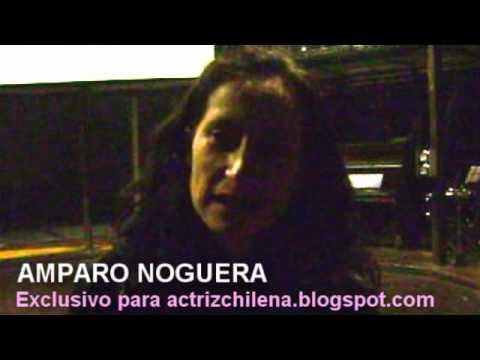 Amparo Noguera saluda al Blog Actriz Chilena