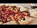 Cranberry Galette Recipe Demonstration - Joyofbaking.com
