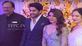 Rebal Star Krishnam Raju Family @ ChaySam Wedding Reception | TFPC - TFPC