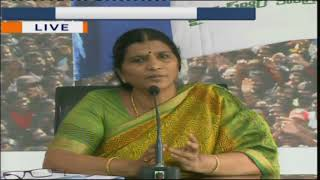 Lakshmi Parvathi Lashes Uut at TDP Govt Over Explosion in Mining Quarry at Hathibelagal | iNews - INEWS