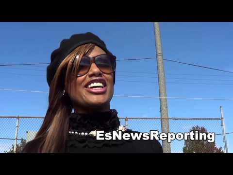 Why Sexy Actress KD Aubert Is A Fan of Austin Trout EsNews Boxing