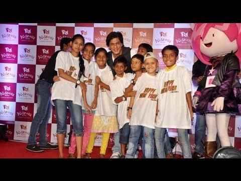 Shahrukh Khan Celebrating Children's Day!
