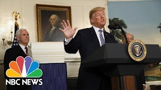 President Donald Trump Has Signed Spending Bill 'As A Matter Of National Security' | NBC News - NBCNEWS