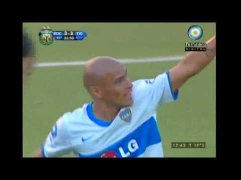 Gol de Clemente Rodriguez (Boca 3 Tigre 3) Cl.11