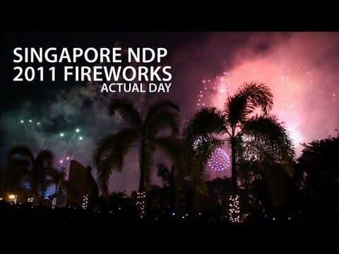 Canon EOS 600D (T3i) Low Light Test - Singapore NDP Fireworks 2011