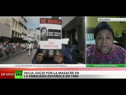 """Rigoberta Menchú sobre juicio por quema de embajada: """"He cumplido con mis difuntos"""""""