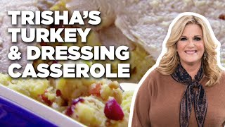 Trisha's Turkey and Dressing Casserole | Food Network - FOODNETWORKTV