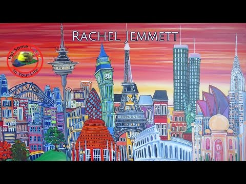 Art Lessons with New Zealand Artist Rachel Jemmett
