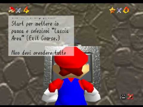 Super Mario 64 localizzato in italiano!