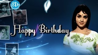 Wishing You A Very Happy Birthday Vijaya Nirmala Garu - IDREAMMOVIES