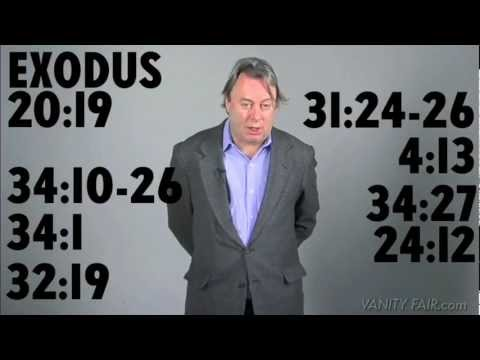 Christopher Hitchens Revises the Ten Commandments