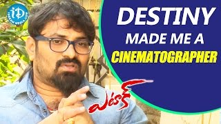 Destiny Made Me A Cinematographer - Anji || Attack Movie || Talking Movies with iDream - IDREAMMOVIES