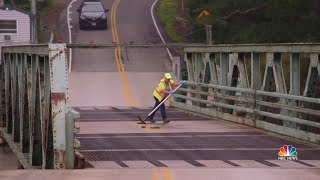 One Of The Nation's Last Manually Operated Bridges Will Soon Be Modernized | NBC Nightly News - NBCNEWS
