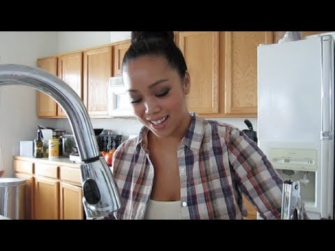 Cooking For My Man - Vlogtober 12, 2011 - itsJudysLife
