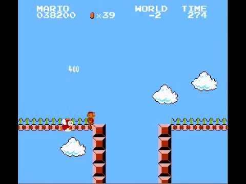 Super Mario Bros. - Minus World - Famicom Disk System Style