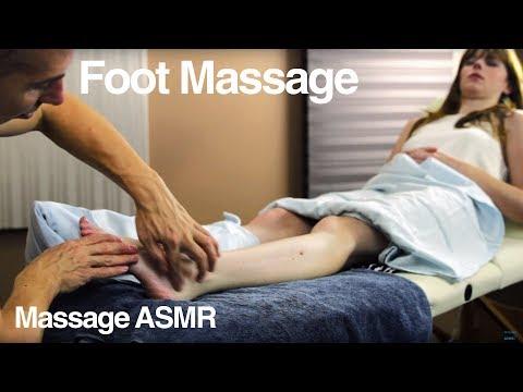 Foot massage for Women - ASMR relaxing Soft Spoken