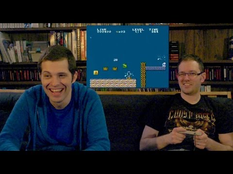 Mario / Zelda Homebrews (NES) - James & Mike Play
