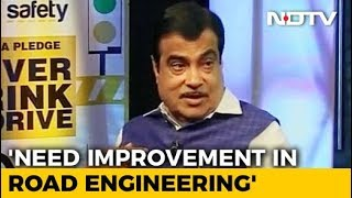 Priority Is To Save Lives Of 1.5 Lakh People Who Die In Road Accidents Every Year: Nitin Gadkari - NDTV