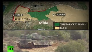 Afrin knot: The triggers and ties of the Olive Branch - RUSSIATODAY