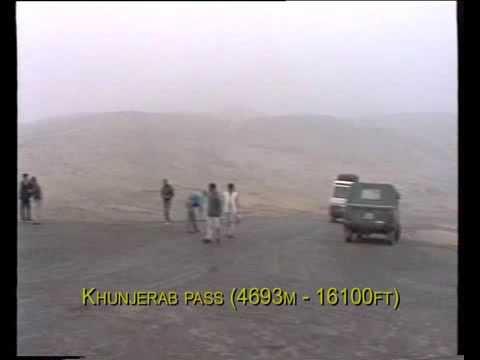Cross-border road Pakistan-China