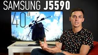 Samsung UE40J5590: обзор телевизора