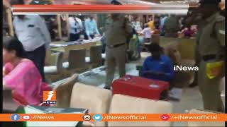 Legal Metrology Officials Raids On Gold Shops in Hyderabad | 58 Lakhs Worth Gold Sized | iNews - INEWS