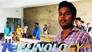 telugu short film||tekunology || tuni govt degree college || venky creative works - YOUTUBE