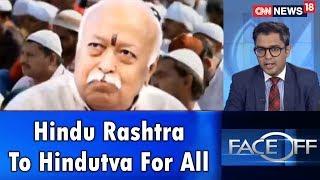 Hindu Rashtra To Hindutva For All   Face Off   CNN News18 - IBNLIVE