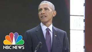 Barack Obama Calls GOP's Relentless Obamacare Repeal Efforts 'Aggravating' | NBC News - NBCNEWS
