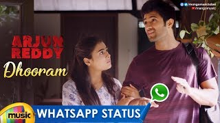Best Love WhatsApp Status Video | Dhooram Song | Arjun Reddy | Vijay Deverakonda | Shalini Pandey - MANGOMUSIC