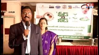 GHMC Feed The Need   Kalyana Chakravarthy IAS Holds Annadanam at Blind School   Hyderabad   CVR News - CVRNEWSOFFICIAL