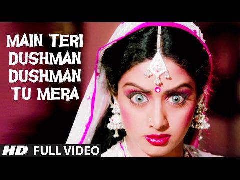 Main Teri Dushman, Dushman Tu Mera [Full Song] | Nagina | Rishi Kapoor, Sridevi