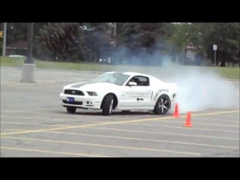 2013 Stock Mustang 5.0 GT Drifting Drift Session - Colony Customs - Review