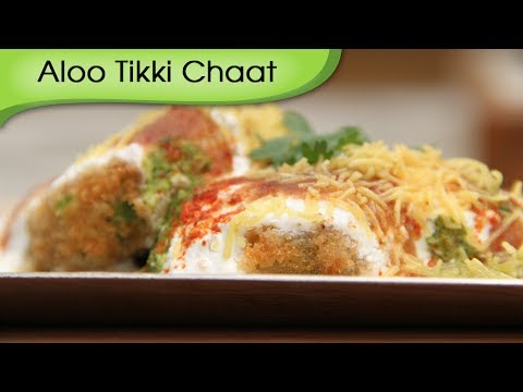 Aloo Tikki - Spicy Fried Potato Patties With Yogurt Dip - Quick Snacks Recipe By Ruchi Bharani [HD]