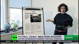 'Most dangerous leader since Hitler'? UK educational site asks students about Putin - RUSSIATODAY