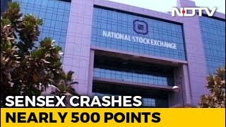 Sensex Cracks Over 650 Points, Rupee Weakest Since November 20 - NDTV