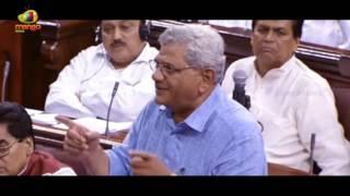 Sitaram Yechury over Removal of Communalsim in rajy sabha | 75th Anniversary of Quit India Movement - MANGONEWS