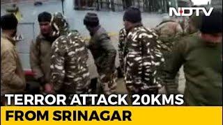 20 CRPF Men Killed In Blast In Kashmir's Pulwama, Worst Attack Since Uri - NDTV