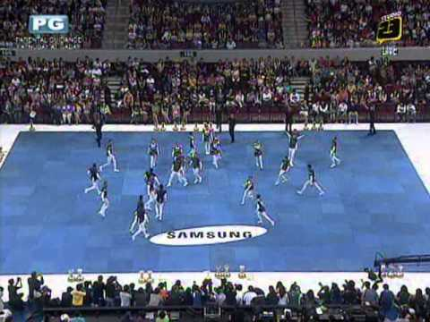 NU Pep Squad - 2012 UAAP Cheerdance Competition