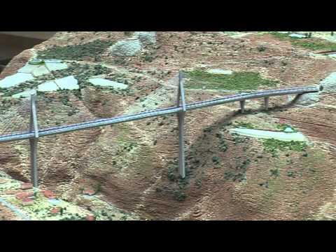 Presentación de la maqueta del puente que atraversará el Barranco de las Angustias